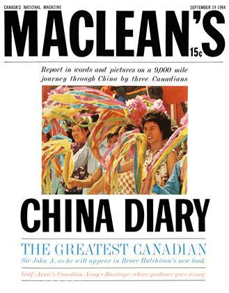 SEPTEMBER 19 1964 | Maclean's