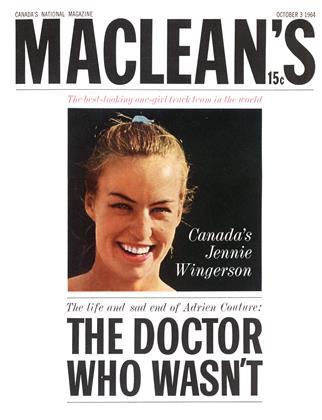 OCTOBER 3 1964 | Maclean's