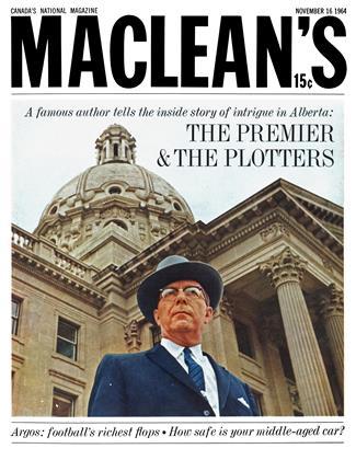 NOVEMBER 16 1964 | Maclean's