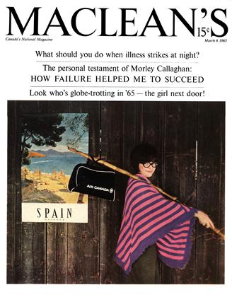 Cover for the March 6 1965 issue