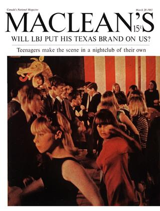 Cover for the March 20 1965 issue