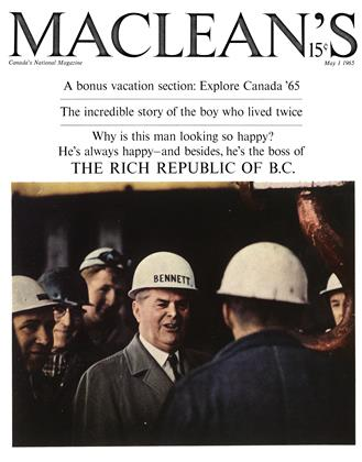 Cover for the May 1 1965 issue