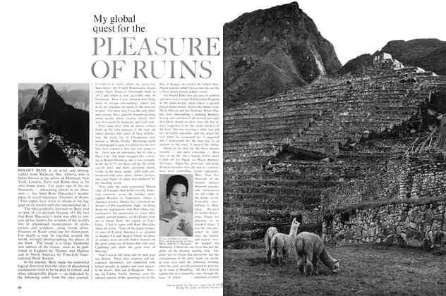 My global quest for the Pleasure of Ruins