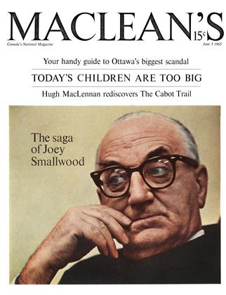 Cover for the June 5 1965 issue