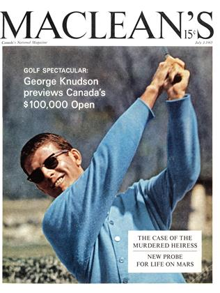 Cover for the July 3 1965 issue