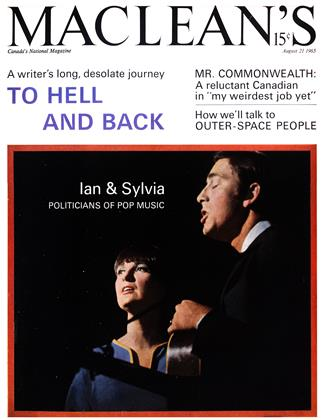 Cover for the August 21 1965 issue
