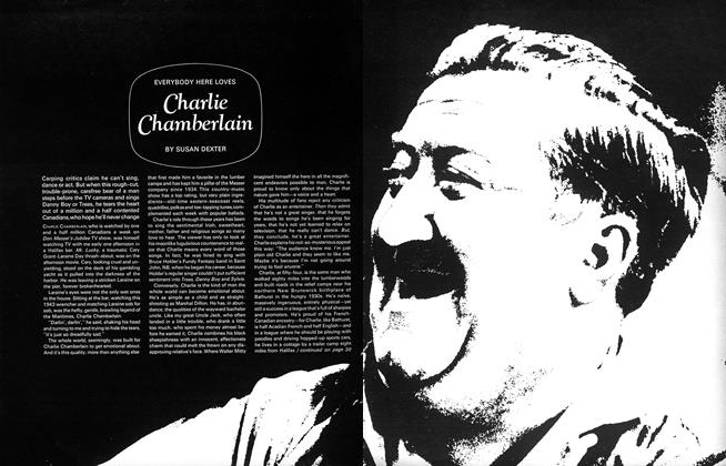 EVERYBODY HERE LOVES Charlie Chamberlain