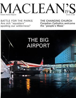Cover for the October 16 1965 issue