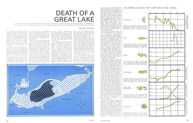 DEATH OF A GREAT LAKE