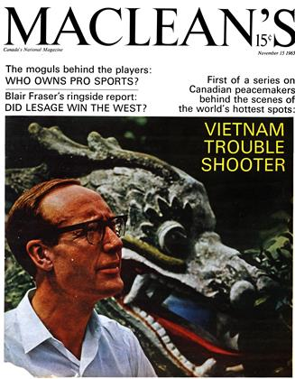 Cover for the November 15 1965 issue