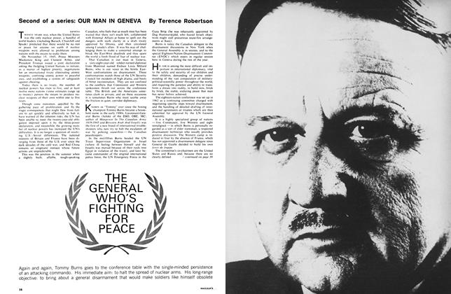 THE GENERAL WHO'S FIGHTING FOR PEACE