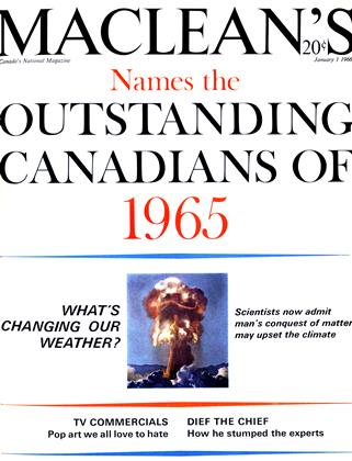 Cover for the January 1 1966 issue