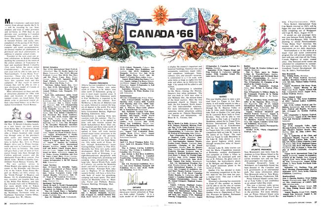 CANADA '66, Page: 26 - March 19 1966 | Maclean's