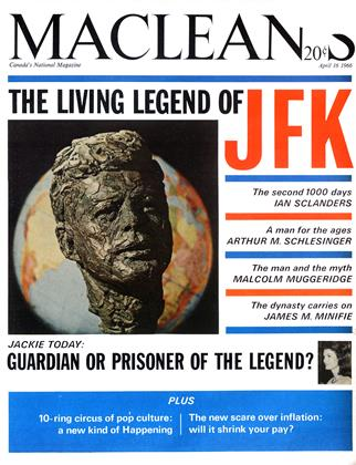 Cover for the April 16 1966 issue