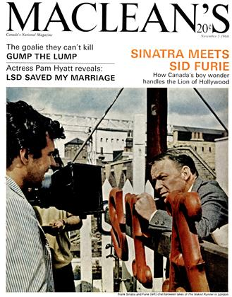 Cover for the November 5 1966 issue