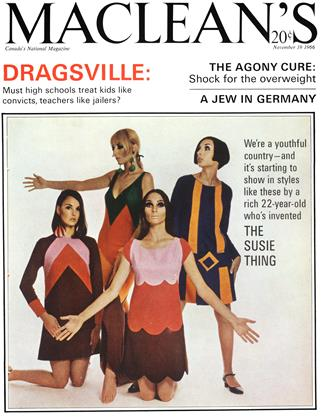 Cover for the November 19 1966 issue