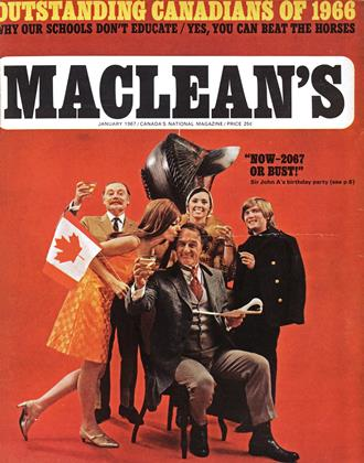 Cover for the January 1 1967 issue