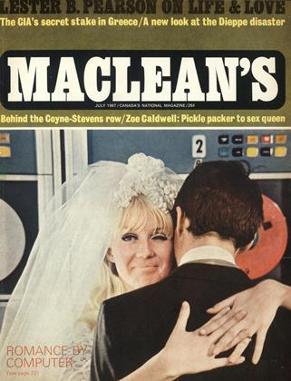 Cover for the July 1 1967 issue