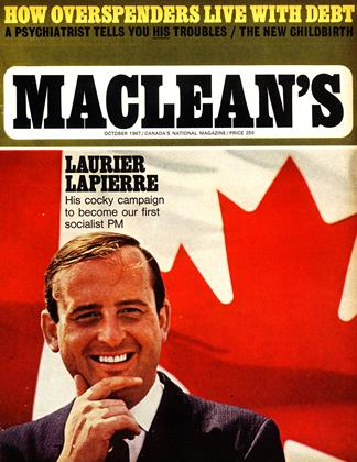 Cover for the October 1 1967 issue