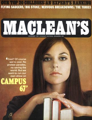 Cover for the November 1 1967 issue