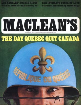 Cover for the December 1 1967 issue