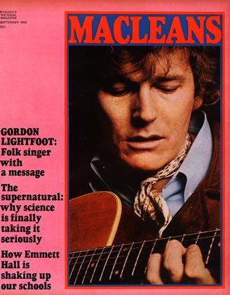 Cover for the September 1 1968 issue