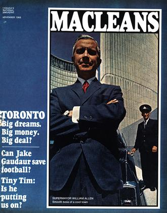 Cover for the November 1 1968 issue
