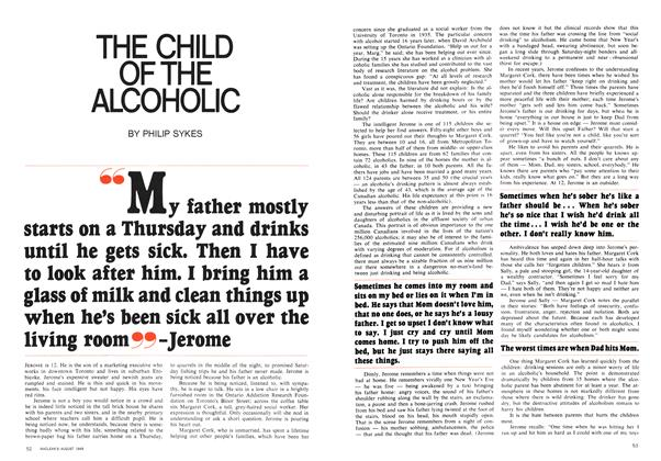 THE CHILD OF THE ALCOHOLIC