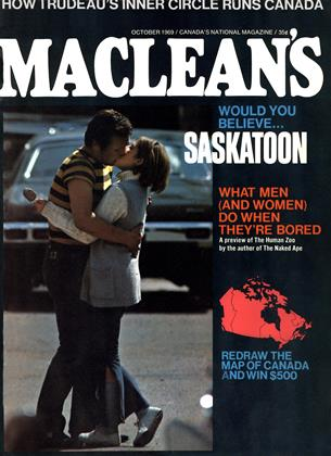 Cover for the October 1 1969 issue