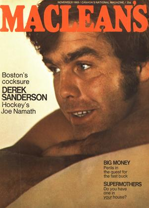 Cover for the November 1 1969 issue
