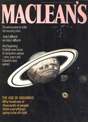 FEBRUARY 1970 | Maclean's
