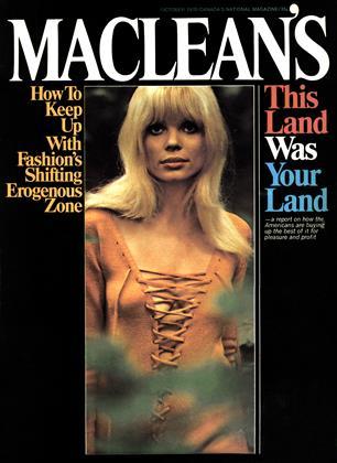 OCTOBER 1970 | Maclean's