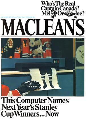 NOVEMBER 1970 | Maclean's