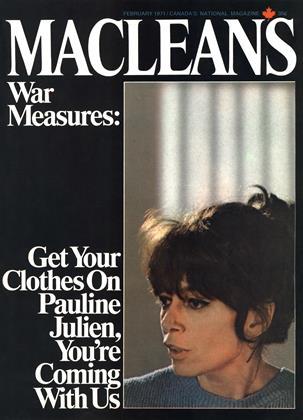 FEBRUARY 1971 | Maclean's