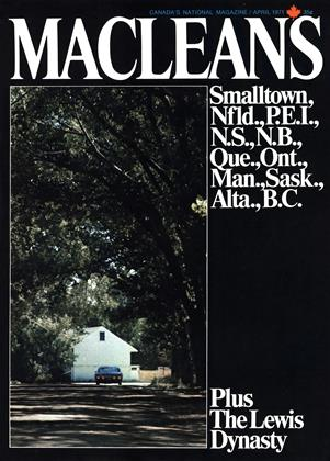 APRIL 1971 | Maclean's