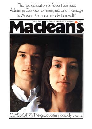 Cover for the June 1 1971 issue