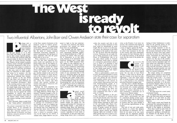 The West is ready to revolt