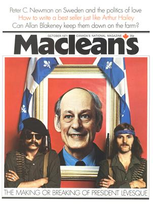 Cover for the October 1 1971 issue