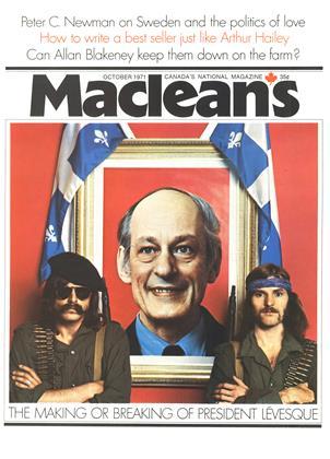OCTOBER 1971 | Maclean's