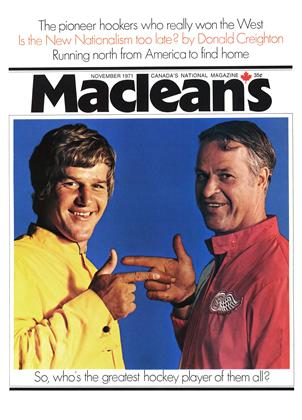 NOVEMBER 1971 | Maclean's