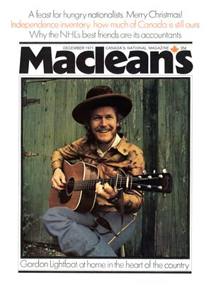 Cover for the December 1 1971 issue