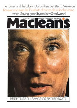Cover for the February 1 1972 issue