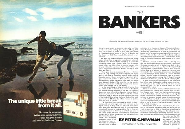 THE BANKERS PART I