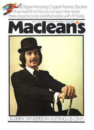 Cover for the April 1 1972 issue