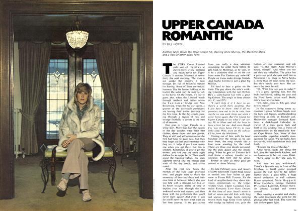 UPPER CANADA ROMANTIC