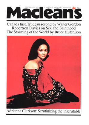 Cover for the September 1 1972 issue