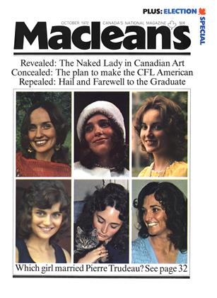 Cover for the October 1 1972 issue