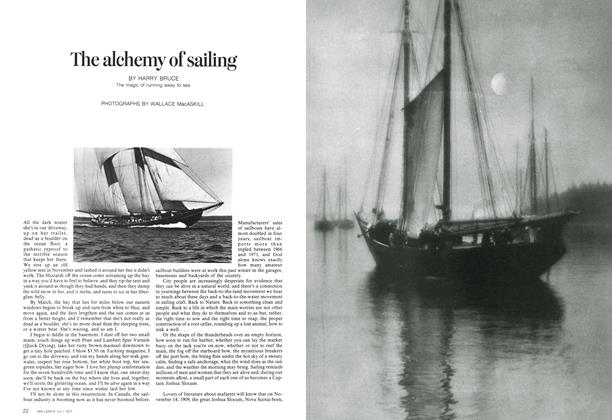 The alchemy of sailing