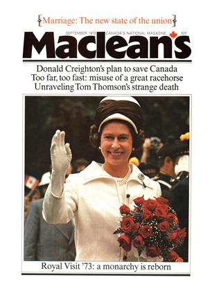 Cover for the September 1 1973 issue