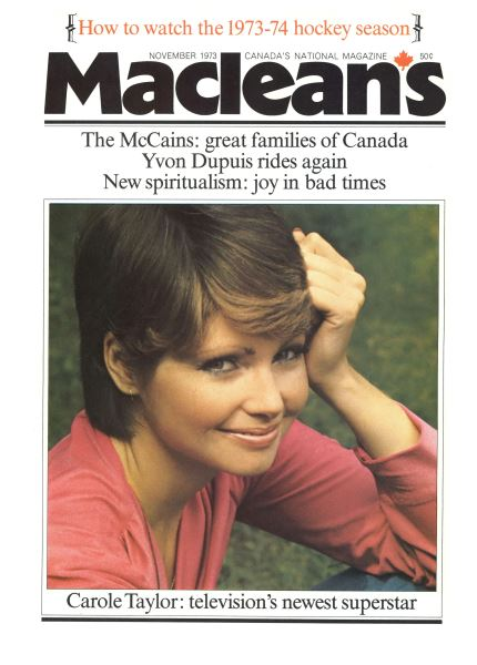 Issue: - November 1973 | Maclean's